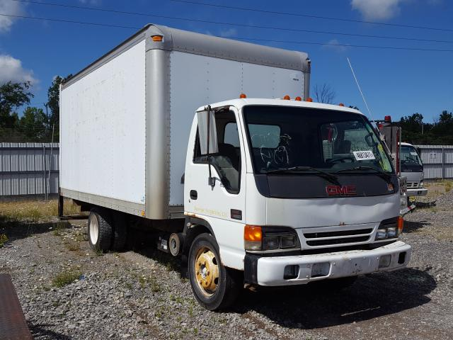 Salvage cars for sale from Copart Leroy, NY: 2004 GMC W4500 W450