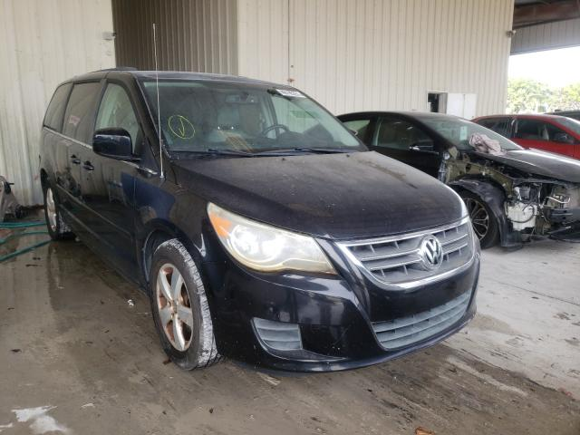 Salvage cars for sale from Copart Homestead, FL: 2011 Volkswagen Routan SE