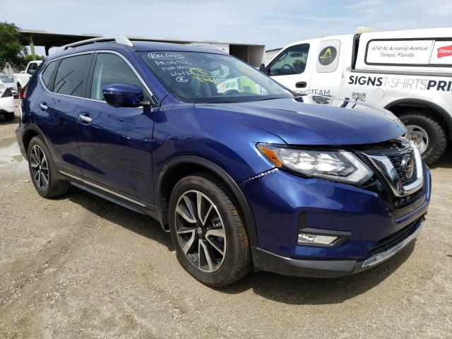 Salvage cars for sale from Copart Riverview, FL: 2019 Nissan Rogue S