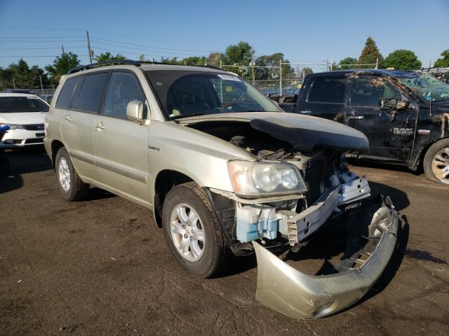 Salvage cars for sale from Copart Denver, CO: 2003 Toyota Highlander