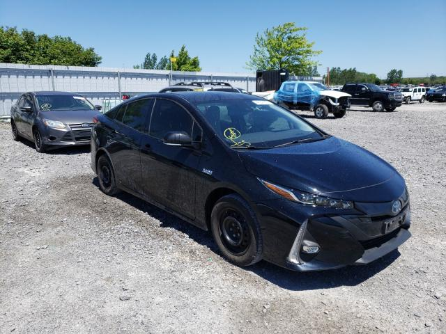 Salvage cars for sale from Copart Ontario Auction, ON: 2020 Toyota Prius Prim