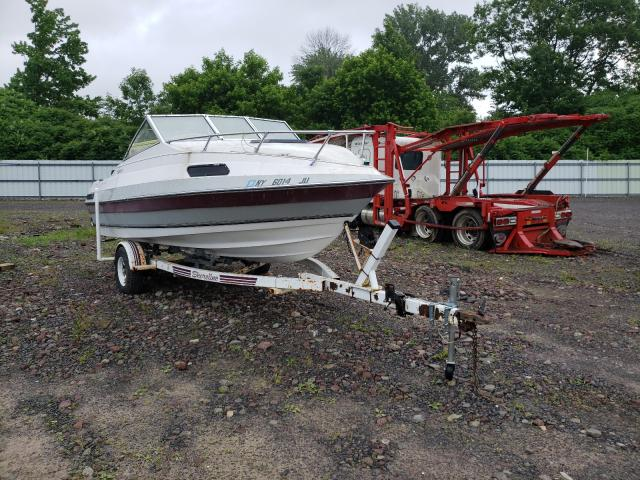 Salvage cars for sale from Copart Central Square, NY: 1987 Citation Boat With Trailer