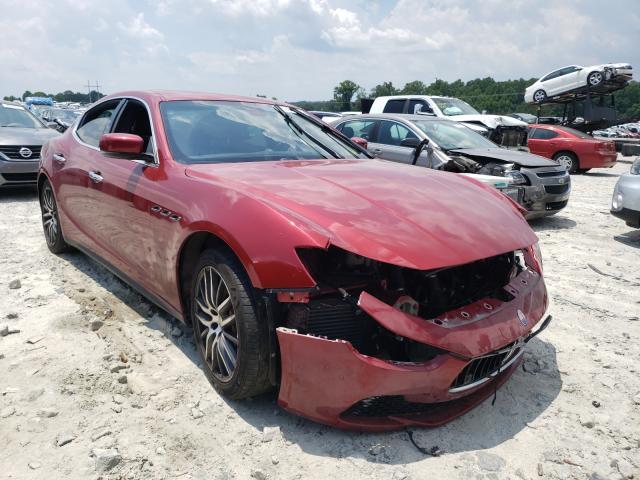 Maserati salvage cars for sale: 2016 Maserati Ghibli S