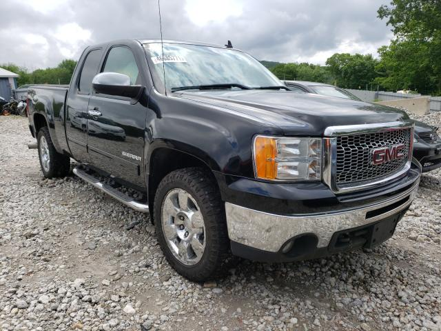 Salvage cars for sale at West Warren, MA auction: 2011 GMC Sierra K15