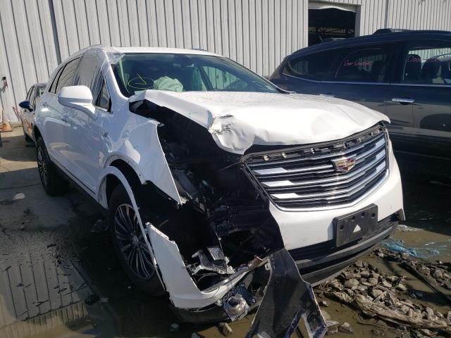 Salvage cars for sale from Copart Windsor, NJ: 2017 Cadillac XT5 Luxury