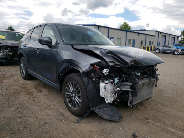 Salvage cars for sale from Copart Finksburg, MD: 2017 Mazda CX-5 Touring