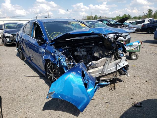 Salvage cars for sale from Copart Pennsburg, PA: 2020 Toyota Camry SE