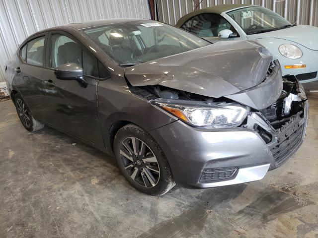 Salvage cars for sale from Copart Appleton, WI: 2021 Nissan Versa SV