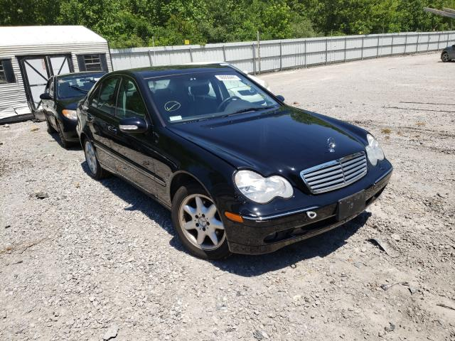 Vehiculos salvage en venta de Copart Hurricane, WV: 2002 Mercedes-Benz C 320