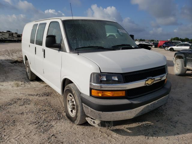 Salvage cars for sale from Copart Houston, TX: 2018 Chevrolet Express G2