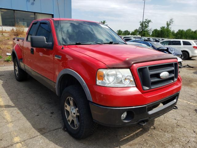 Salvage trucks for sale at Woodhaven, MI auction: 2007 Ford F150