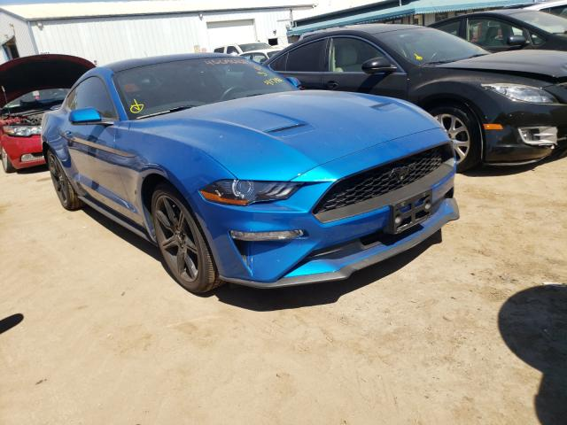 Salvage cars for sale from Copart Pekin, IL: 2019 Ford Mustang