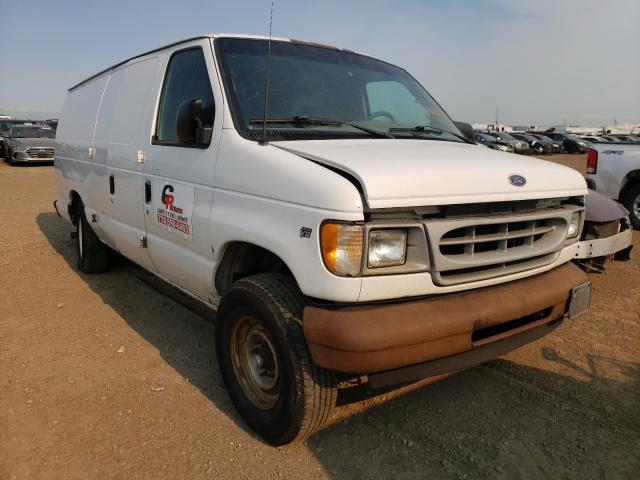 Salvage cars for sale from Copart Brighton, CO: 2002 Ford Econoline