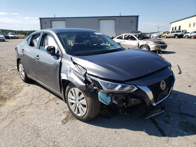 Salvage cars for sale from Copart Chatham, VA: 2020 Nissan Sentra S