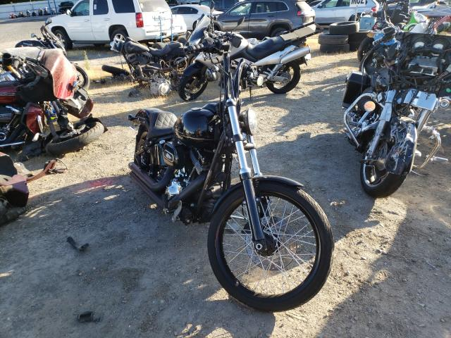 Salvage cars for sale from Copart Sacramento, CA: 2013 Harley-Davidson FXS Blackl