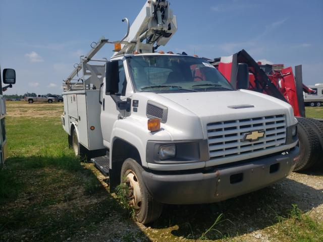 Salvage cars for sale from Copart Newton, AL: 2007 Chevrolet C4500 C4C0