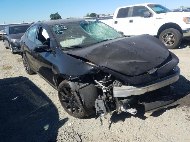 Salvage cars for sale from Copart Antelope, CA: 2016 Dodge Dart SE