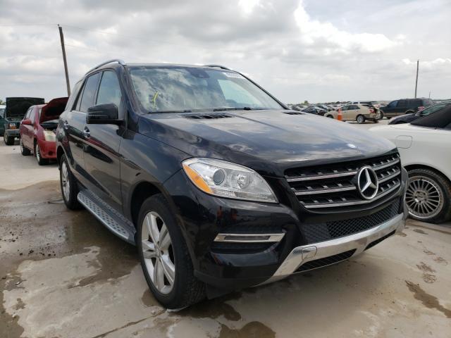 2015 Mercedes-Benz ML 350 en venta en Grand Prairie, TX