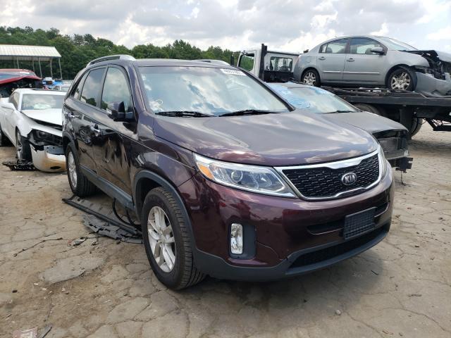 Vehiculos salvage en venta de Copart Austell, GA: 2014 KIA Sorento LX