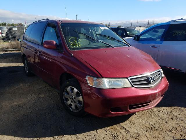Salvage cars for sale from Copart San Martin, CA: 2002 Honda Odyssey EX