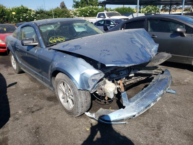 Salvage cars for sale from Copart San Martin, CA: 2005 Ford Mustang