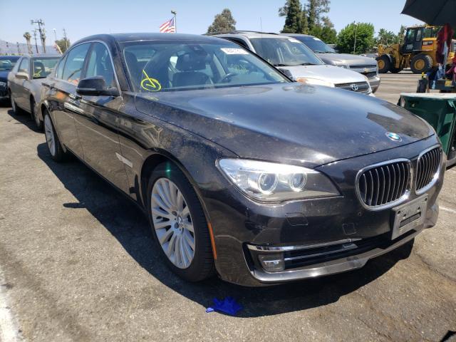 BMW Vehiculos salvage en venta: 2013 BMW 750 LI