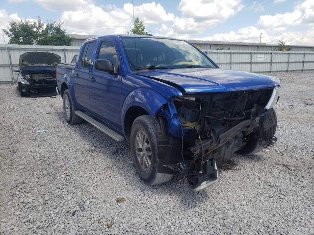 Salvage cars for sale from Copart Walton, KY: 2015 Nissan Frontier S