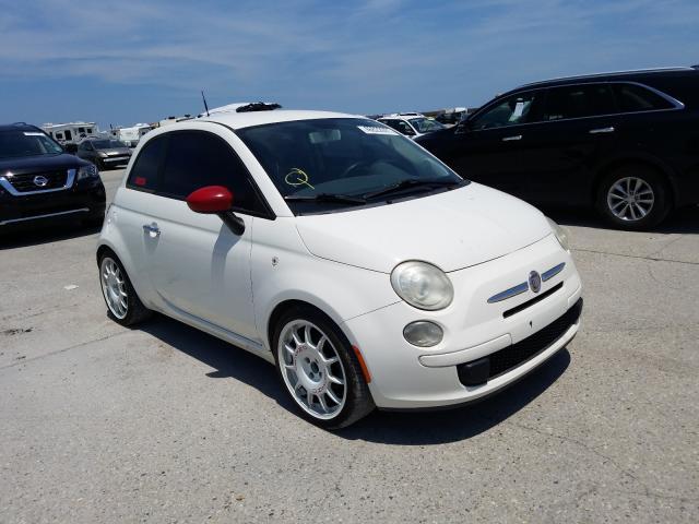Salvage cars for sale at New Orleans, LA auction: 2012 Fiat 500 POP
