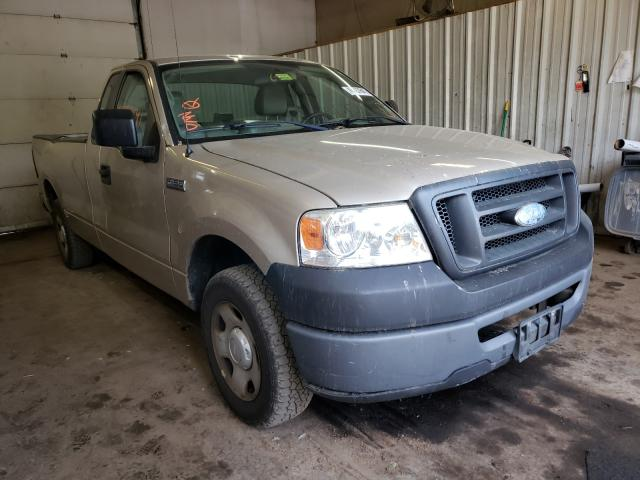 Salvage cars for sale from Copart Lyman, ME: 2007 Ford F150