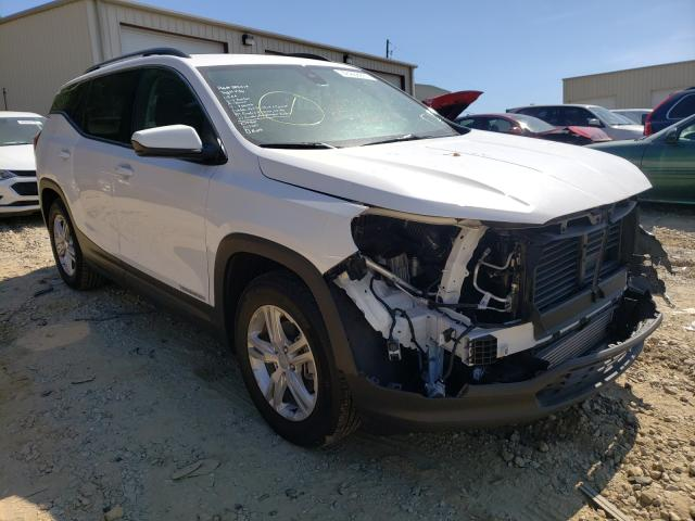 Salvage cars for sale from Copart Gainesville, GA: 2020 GMC Terrain SL