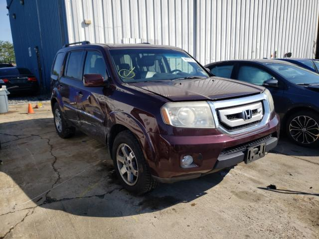 Salvage cars for sale from Copart Windsor, NJ: 2010 Honda Pilot Touring