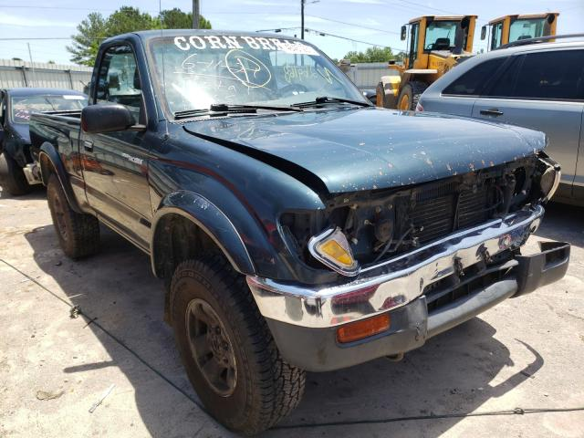 Salvage trucks for sale at Montgomery, AL auction: 1997 Toyota Tacoma