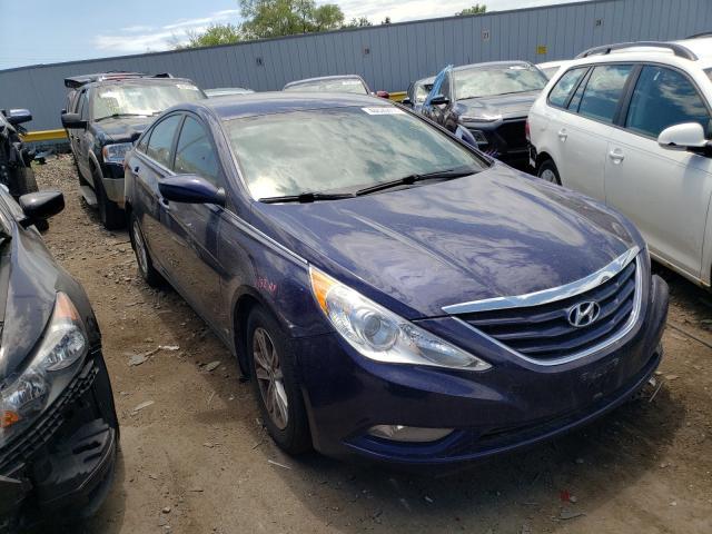 Salvage cars for sale at Cudahy, WI auction: 2013 Hyundai Sonata GLS