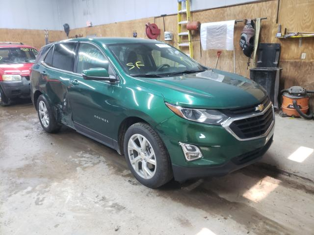 Salvage cars for sale from Copart Kincheloe, MI: 2018 Chevrolet Equinox LT