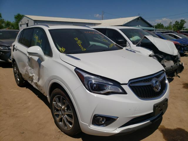 Salvage cars for sale from Copart Pekin, IL: 2020 Buick Envision E