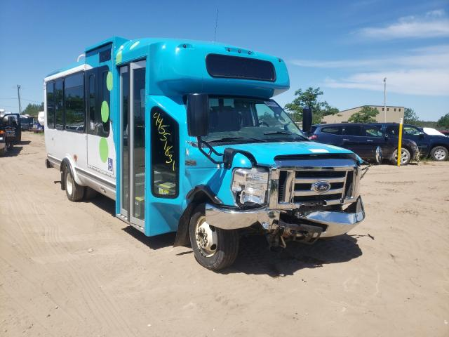 Salvage cars for sale from Copart Kincheloe, MI: 2017 Ford Econoline