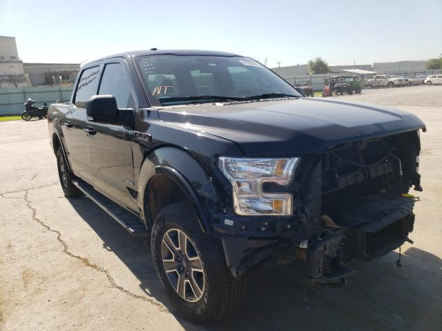 Salvage cars for sale from Copart Tulsa, OK: 2017 Ford F150 Super