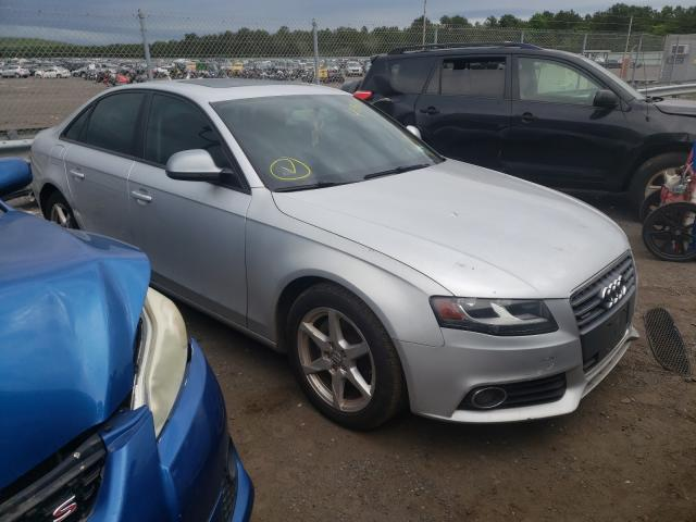 Salvage cars for sale from Copart Brookhaven, NY: 2009 Audi A4 2.0T Quattro