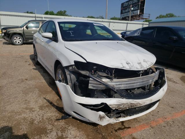 Salvage cars for sale at Wichita, KS auction: 2015 Chrysler 200 S