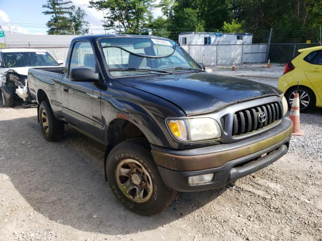 Salvage cars for sale from Copart Northfield, OH: 2001 Toyota Tacoma