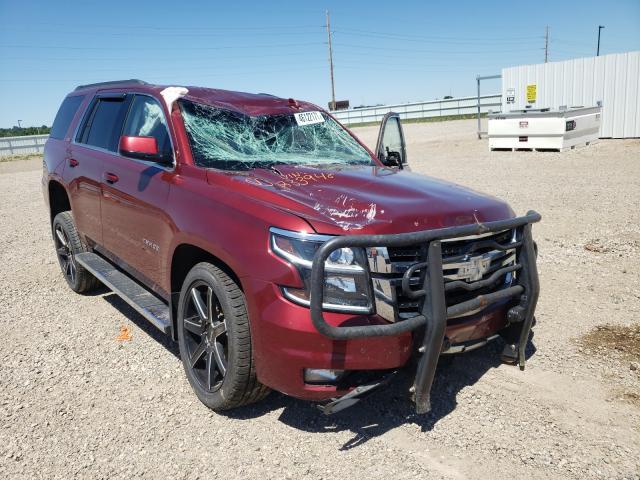 Vehiculos salvage en venta de Copart Bismarck, ND: 2016 Chevrolet Tahoe K150