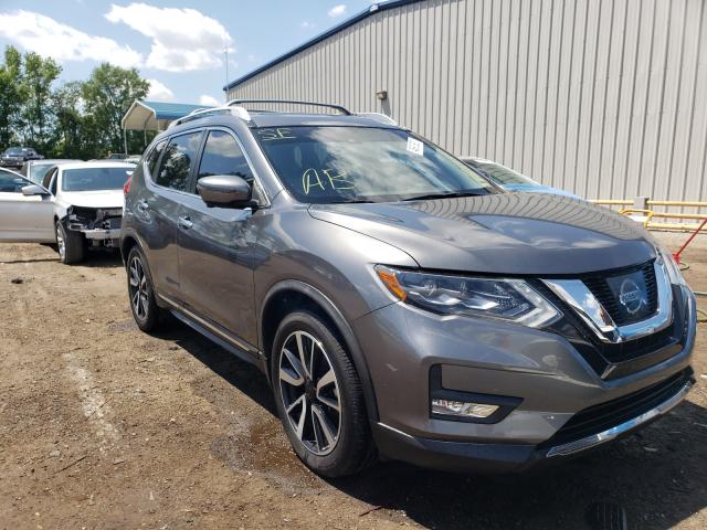 Salvage cars for sale from Copart Harleyville, SC: 2017 Nissan Rogue S
