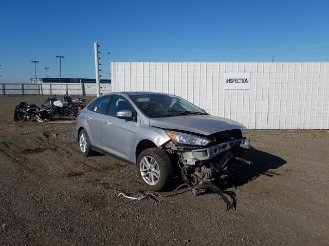 Salvage cars for sale from Copart Anchorage, AK: 2017 Ford Focus SE