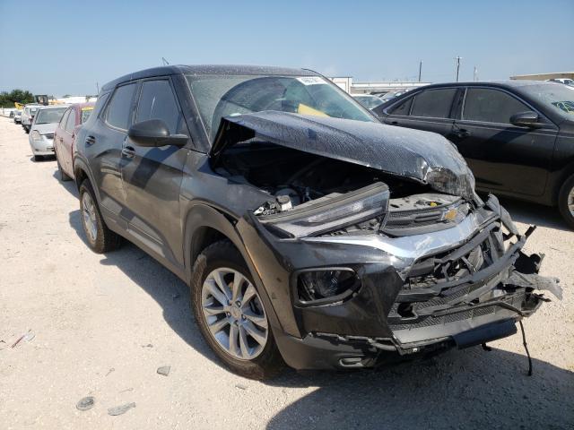 Chevrolet Trailblazer salvage cars for sale: 2021 Chevrolet Trailblazer