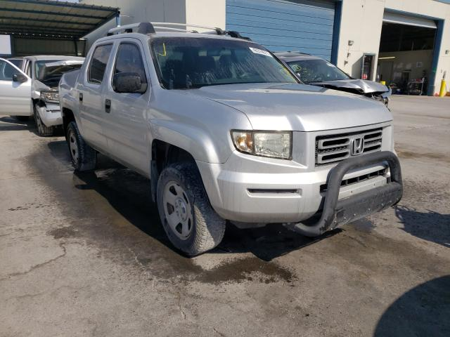 Salvage cars for sale from Copart Anthony, TX: 2006 Honda Ridgeline