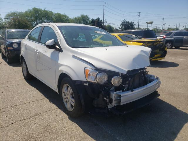 Salvage cars for sale from Copart Moraine, OH: 2016 Chevrolet Sonic LT