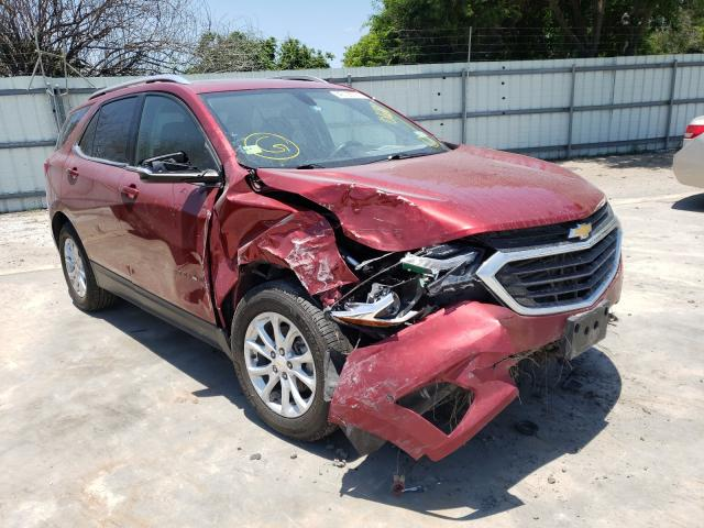 Salvage cars for sale from Copart Corpus Christi, TX: 2018 Chevrolet Equinox LT
