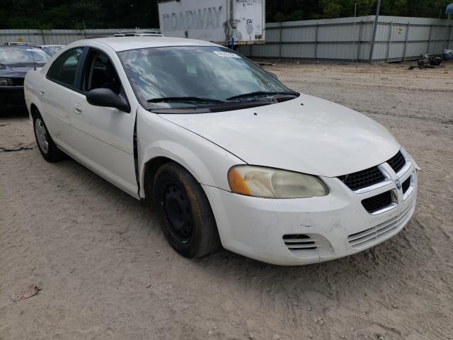 Salvage cars for sale from Copart Midway, FL: 2006 Dodge Stratus SX