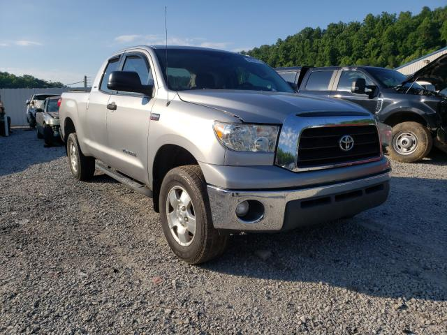 Salvage cars for sale from Copart Hurricane, WV: 2008 Toyota Tundra DOU