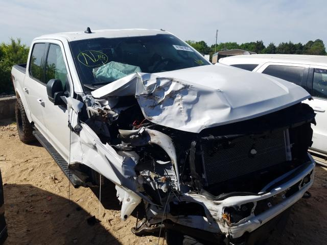 Salvage cars for sale from Copart China Grove, NC: 2020 Ford F150 Super